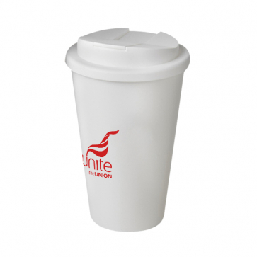 Americano Pure Mug with Spill Proof Lid (Personalised)