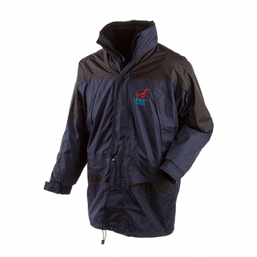 UNITE 3 in 1 Jacket - Navy with black trim