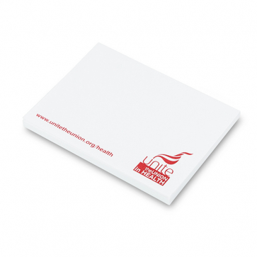 UNITE IN HEALTH - Sticky Note Pads
