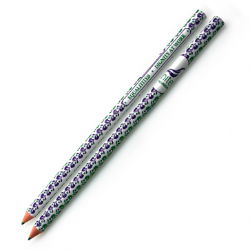 Equalities & Dignity Cut End Pencil - Flower Print