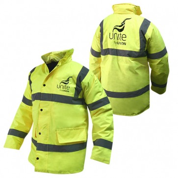UNITE Hi-Vis Jacket Yellow