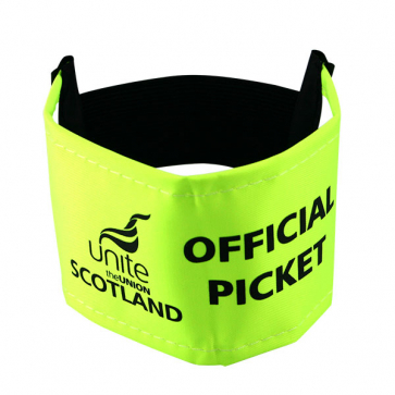 UNITE Scotland Armband - Official Picket