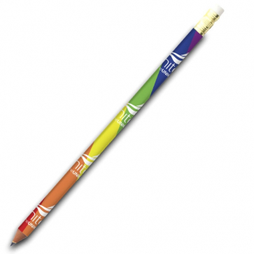 Rainbow LGBT Pencil with Eraser