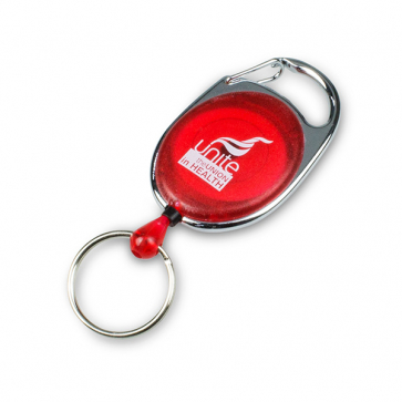 UNITE IN HEALTH Pull Reel Keyring