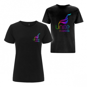 UNITE Ladies Jersey Sparkle T-Shirt