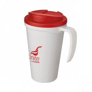 Americano Mug with Handle & Spill Proof Lid (Personalised)