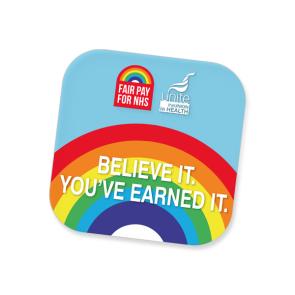 #NHSPAY15 Britemat Coaster (Personalised)