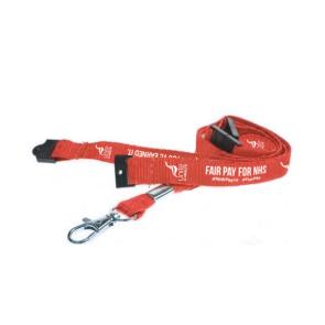#NHSPAY15 20mm Polyester Lanyard (Personalised)