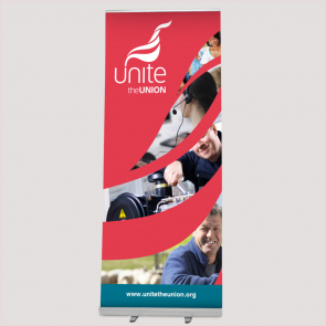 Unite Personalised Rollerbanner Stand
