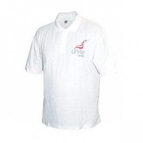 UNITE White Polo Shirt