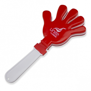Red Hand Clapper (Personalised)