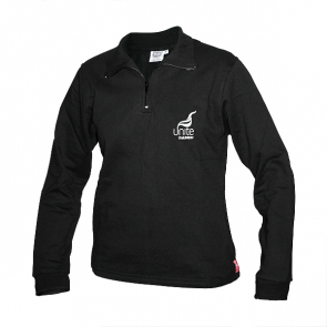 Ladies Sweatshirt with half zip