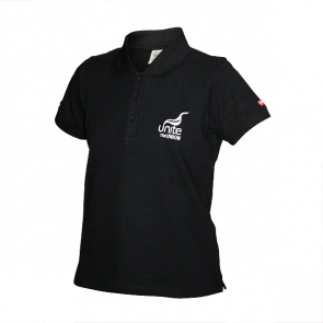Ladies Fairtrade Polo Shirt Black