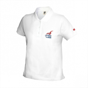 UNITE Ladies Fairtrade Polo Shirt White
