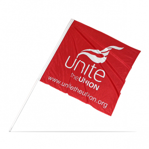 UNITE Large Flag Red