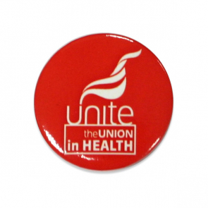 UNITE IN HEALTH - Button Badges