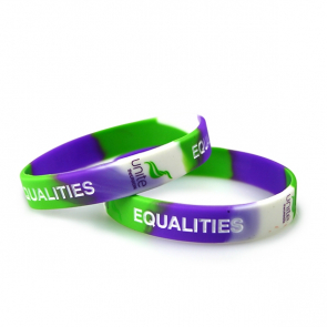 Equalities & Dignity Silicon Wristband