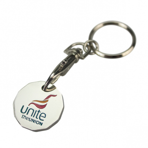 UNITE NEW SHAPE Trolley Coin Keyring