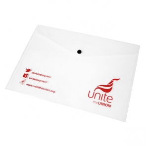 UNITE - Popper Wallets  - Clear