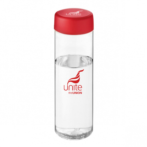 H2O Vibe 850ml Screw Cap Water Bottle (Personalised)